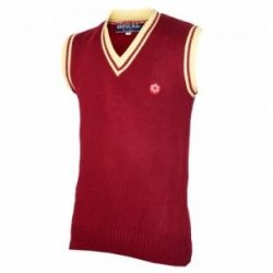 HALF SLEEVE SWEATER MAROON1