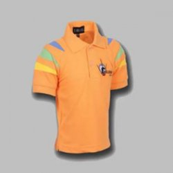 Untitled-1_0000_G. D. Goenka School - Half Sleeve Sports T-Shirt ( Orange )