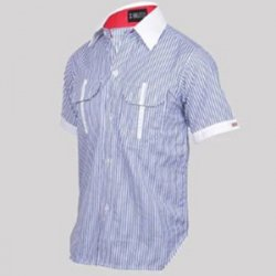 Untitled-1_0001_G. D. Goenka School - Half Sleeve Boys Shirt ( Stripe )