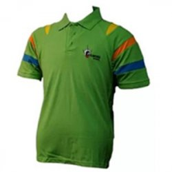 Untitled-1_0043_G. D. Goenka School - Half Sleeve Sports T-Shirt (Green )