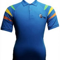 Untitled-1_0044_G. D. Goenka School - Half Sleeve Sports T-Shirt (Blue )