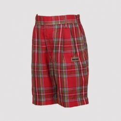 Vanasthali Public School Boys Short ( Red )