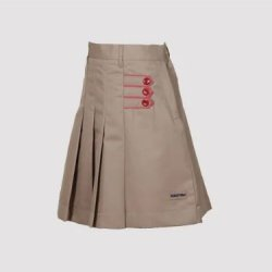 Vanasthali Public School Girls Skirt ( Beige )