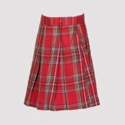 Vanasthali Public School Girls Skirt For Junior ( Red )