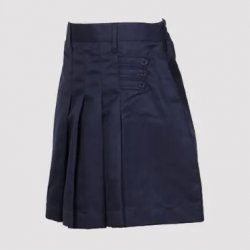 Vanasthali Public School Girls Skirt ( Navy Blue )