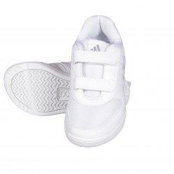 Adidas White velcro Shoe 4