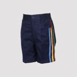 Vanasthali Public School Boys Sports Shorts ( Blue )