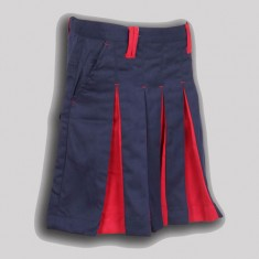 SKIRT 3RD TO 5TH F NAVY BLUE